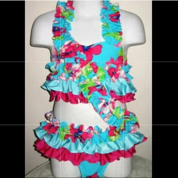 jmm originals Other - JMM originals 3 pc Hawaiian pageant/dance costume